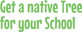 Get a native Tree for your School